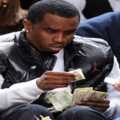 P Diddy finds one dollar bill